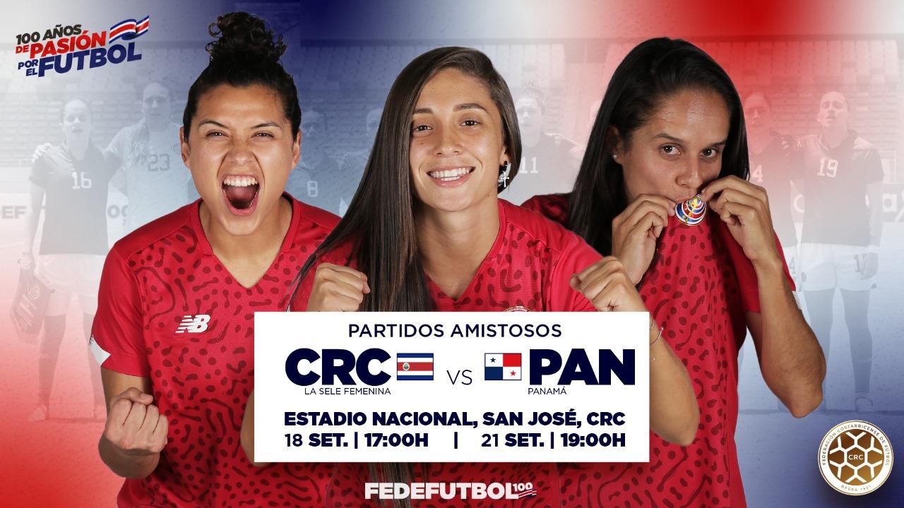 Selección Femenina tendrá dos fogueos ante Panamá