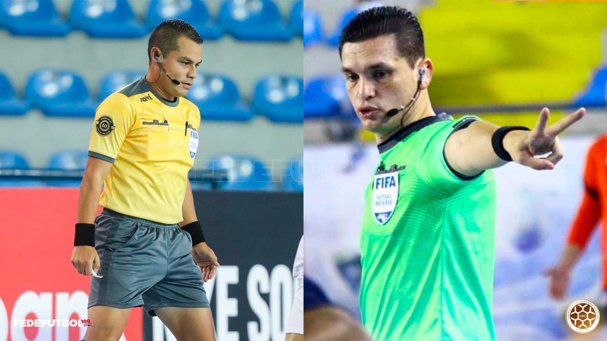 Dos árbitros ticos superaron las pruebas físicas y se alistan para el Mundial de Fútsal