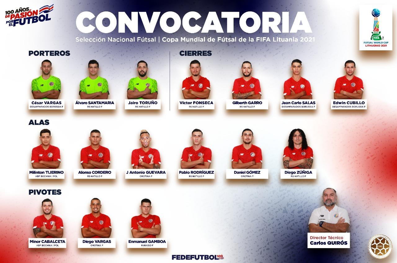 La Selección de Fútsal ya tiene sus 16 elegidos para el Mundial de Lituania