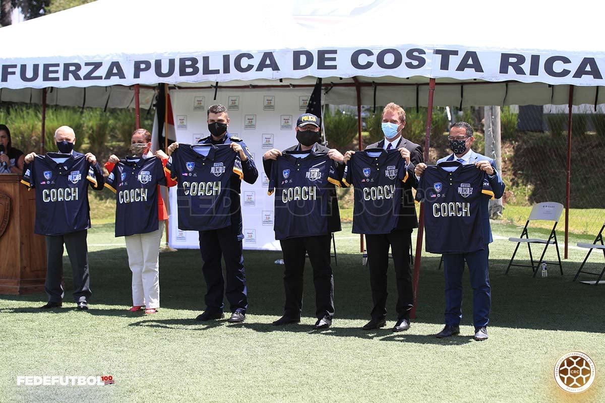 Fedefútbol apoya a la Fuerza Pública en el programa «Ligas Atléticas Policiales»
