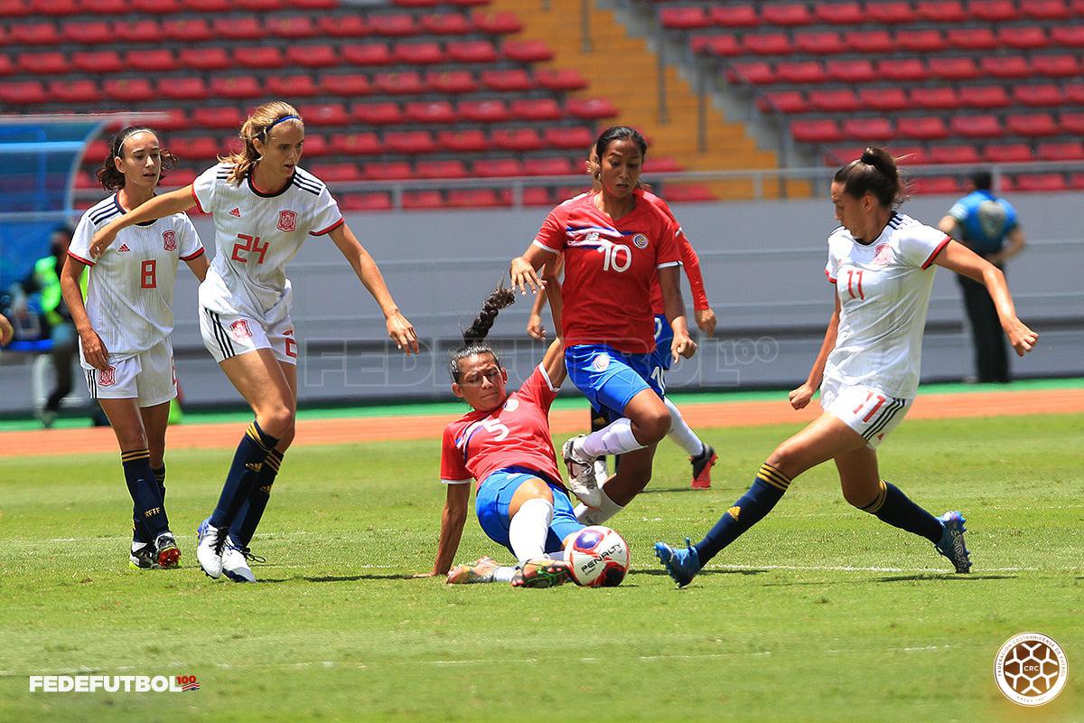Finalizó la serie del Bicentenario ante España en categoría Sub 20 femenina