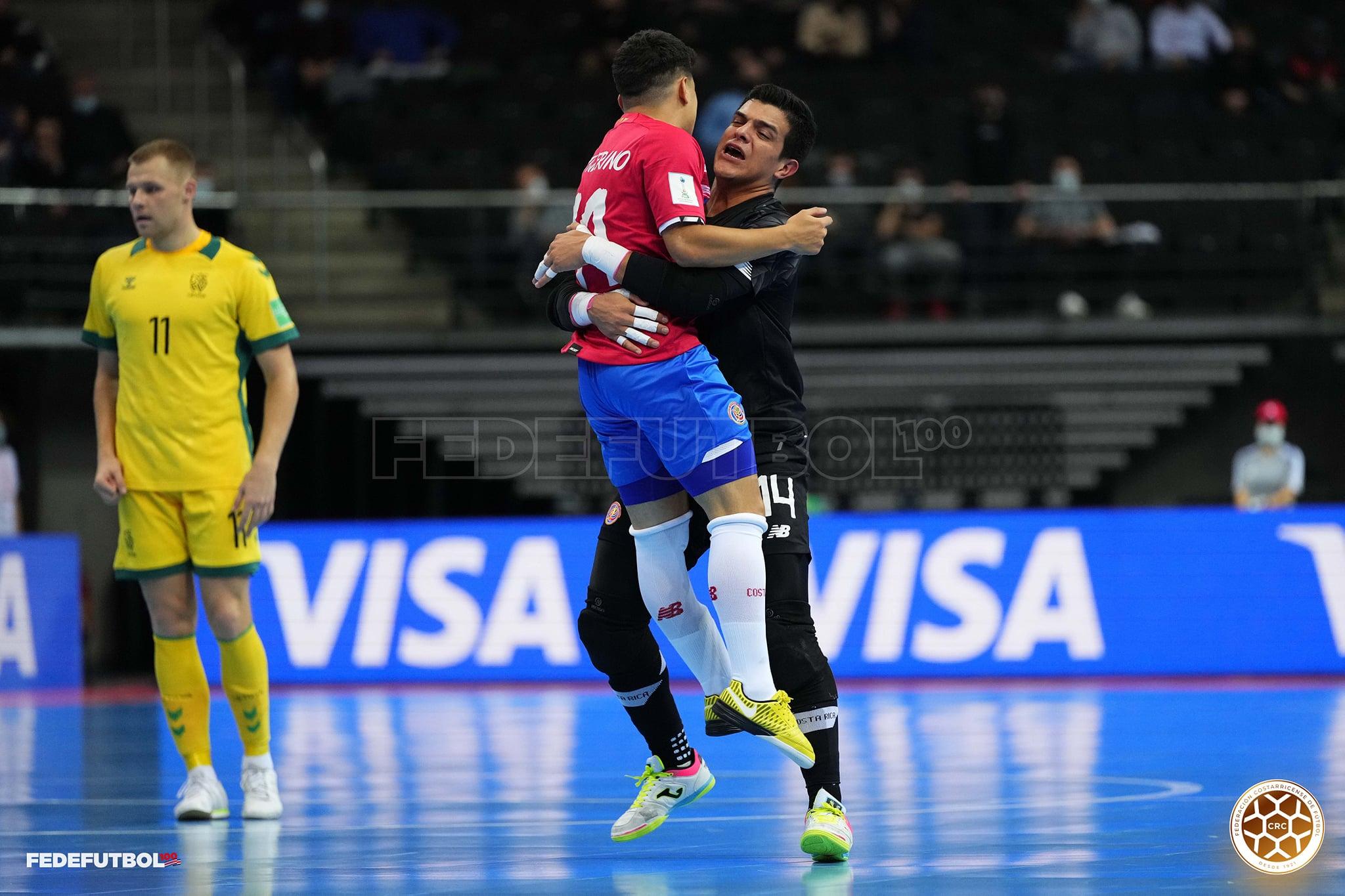 Selección de Fútsal sacó la garra y el talento para vencer a Lituania en el Mundial